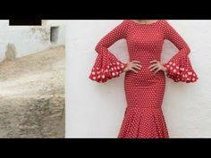 1-Patrones vestido sencillo sevillanas, transformar patrón flamenco - YouTube Two Piece Skirt Set, Couture, Crochet, Skirts, Pattern, Sweaters, Dresses, Stitching, Fashion