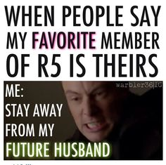 NO!! The only reason I'm pinning this is cuz your not a true R5er if you have a favorite member!