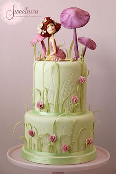 Fairy Tale Garden Cake. www.sweetnessonline.co.uk