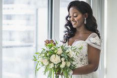 Grace wanted a wedding bouquet that relected her natural luxury wedding theme. #weddingbouquets #greenerybouquet #nigerianweddings #nigerianbride #blackbrides #NigerianweddingsToronto #NigerianweddingplannerToronto Nigerian Bride, Nigerian Weddings, Wedding Bouquets, Wedding Dresses, Toronto Wedding, Luxury Wedding, Summer Wedding, Greenery, Wedding Planner