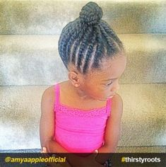 braided-bun-protective-style-natural-hairstyle-for-little-girls