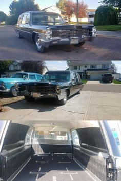 1965 Cadillac Hearse [updated 1968 drivetrain] Universal Joint, Back Doors, Cadillac, Im Not Perfect, Exterior, I'm Not Perfect, Outdoor Rooms