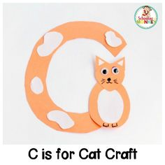Transform letter cut-outs into adorable animal alphabet crafts! These preschool alphabet letter crafts are the perfect addition to letter of the week activities! Make a craft alphabet for toddlers and have a blast with these alphabet crafts for kids. Alphabet Letter Crafts, Abc Crafts, Animal Alphabet, Toddler Crafts, Preschool Crafts, Alphabet Games, Preschool Ideas, Alphabet Activities Kindergarten, Learning Letters