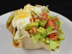 Tostada Salad  Healthy salad for a lunch or dinner