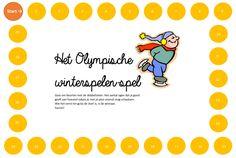 www.juf-lisanne.nl Voor kleuters: het Olympische winterspelen dobbelspel! Exercise Activities, Winter Wonderland, Stage, My Love, School, Sports, Olympic Games Kids, Hs Sports, Schools