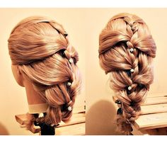 braid, hairdo, hairstyle