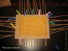 Мастер-класс по плетению из газет: Прямоугольное дно