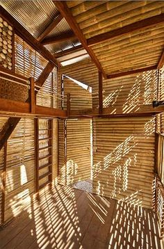 Bamboo Houses for Building Green