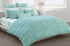 DKNY Home, Willow Duvet Cover F/Q, Teal