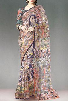 Top 25 Types of Sarees In India - Buy lehenga choli online Cotton Saree Designs, Saree Blouse Designs, Kalamkari Saree, Silk Sarees, Banarsi Saree, Chiffon Saree, Lehenga Choli, Indian Dresses, Indian Outfits