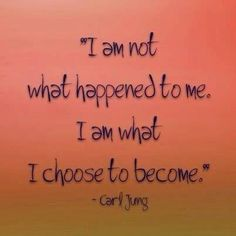 This is so true, never feel sorry for yourself except what is, make changes and live on!!