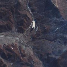 This satellite image courtesy of DigitalGlobe shows the Sohae Launch Facility in North Korea on November 23, 2012, The new satellite image shows a marked increase in activity at the North Korean missile launch site, pointing to a possible long-range ballistic missile test by Pyongyang in the next three weeks, according to satellite operator DigitalGlobe Inc. REUTERS/DigitalGlobe/Handout