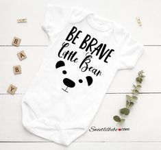 21edc8fef Be Brave Little Bear Onesie®, Baby Bear Onesie, Baby Bear Bodysuit, Infant  Baby Onesie, Baby Shower Gift, Bear Bodysuit, Infant Gift