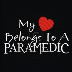 My Heart Belongs To A Paramedic Decal - Vinyl Sticker. $7.99, via Etsy.