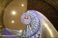 Allure of the Seas - Stairs from Casino Royale