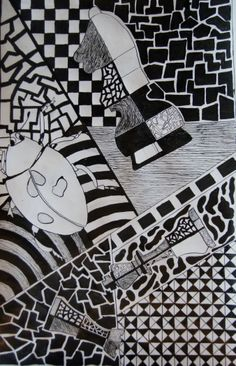 Indian ink Chest and ladybird 2011-2012