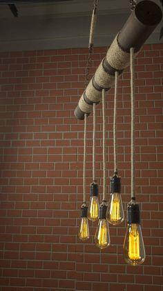 Farmhouse Chandelier Rustic Lighting Reclaimed Wood Light