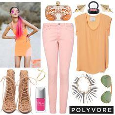 Peach, peach and more peach