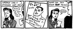Kate Beaton's Lois Lane is my favourite Lois Lane.