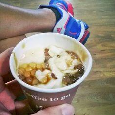 taho. post #run food.