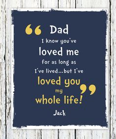 Fathers Day Gift for Dad Gift  Personalized by WordsWorkPrints