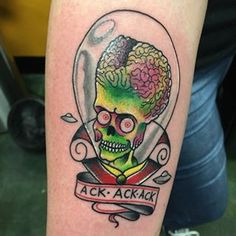 Another awesome #marsattacks tattoo!!!