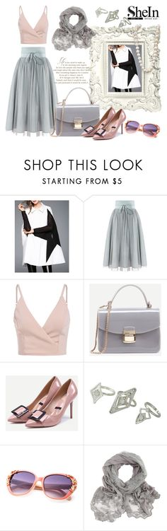 """""""Simple & classy ! Shein"""" by mery-2601 ❤ liked on Polyvore featuring WALL"""