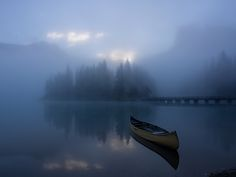 Morning at Emerald Lake by Alex Grechanyi on 500px