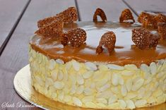 Hungarian Desserts, Hungarian Recipes, Cookie Recipes, Dessert Recipes, Cold Desserts, Classic Cake, Cakes And More, Let Them Eat Cake, Cake Cookies