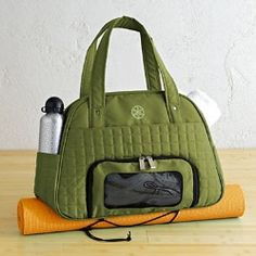 Gaiam Everything Fits Gym Bag, Green  $60.00