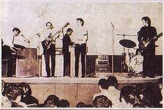 E.Clapton with the Juniors in '65