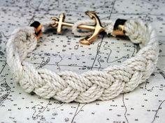 anchor braid bracelet