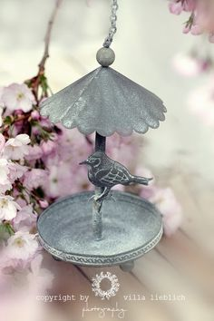 Pretty little #zinc #birdfeeder