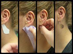 Metalické tetování Metalic tattoo