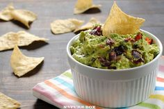 Spicy guacamole recipe the best made from scratch guacamole roasted red pepper and onion guacamole foxes love lemons forumfinder Image collections