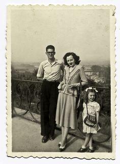 Elegant people - France, 1948 by perispomene, via Flickr