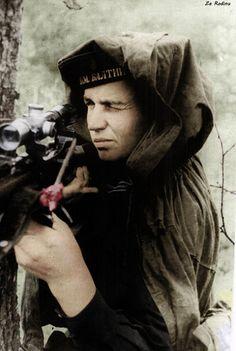 Soviet sniper Ivan Antonov 1943 | pin by Paolo Marzioli