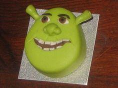 Shrek-for T's birthdayy Big Cakes, Fancy Cakes, Cute Cakes, Shrek Cake, Fondant, Different Cakes, Character Cakes, Disney Cakes, Birthday Parties