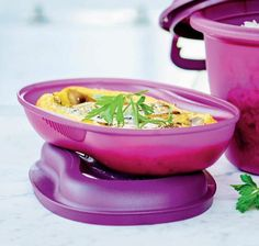 The best omelette made in microwave with Tupperware Micro Delight Omelette Maker.