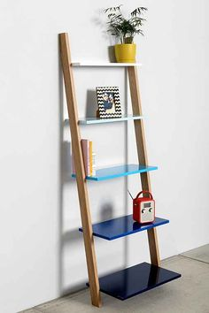 Assembly Home Leaning Bookcase - Urban Outfitters