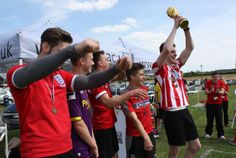 Students and staff took part in the West Notts World Cup on Friday 6 June 2014. Honduras took the winning trophy, beating Bosnia 1-0.