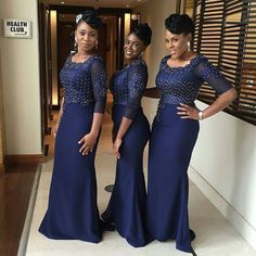 Bridesmaids Inspiration loving them. Dresses by @purplelagos #bridesmaids #pretty #bedazzled #silver