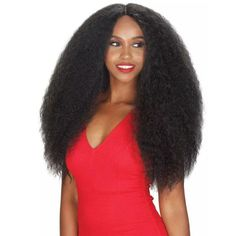 Dula A Hair Kinky Curly Type Kanekalon Hair Black Women Makeup Valentines Day Present Brown Color Synthetic Lace Front Wigs Sale Price Synthetic Lace Wigs