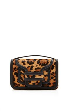 Alpha Clutch In Natural And Black by Pierre Hardy for Preorder on Moda Operandi