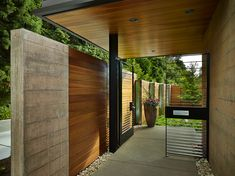 Courtyard House Modern Home in Washington by DeForest on Dwell