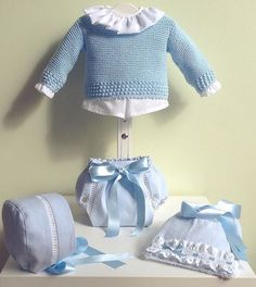 Trendy Ideas For Crochet Baby Dress Boy Crochet Baby Jacket, Crochet Lovey, Crochet Baby Clothes, Crochet Baby Hats, Baby Knitting Patterns, Knitting For Kids, Baby Girl Cardigans, Baby Sweaters, Baby Boy Baptism Outfit