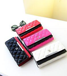 87bdde680003 高品質シャネルChanel 三つ折り長財布レディース女性ウォレット iPhone6s、iPhone6s Plusを収納できる 全機種対応 ...
