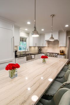 White Macaubas Quartzite countertop