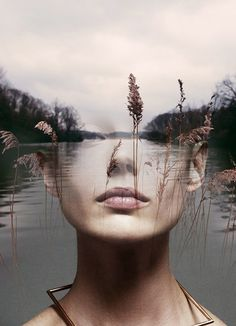 Nymph - Antonio Mora Double Exposure Photography, Art Photography, Image Digital, Multiple Exposure, Surreal Art, Photo Manipulation, Antonio Mora, Collage Art, Illusions