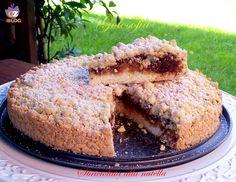 Torta sbriciolata alla nutella - ricetta semplice e veloce
